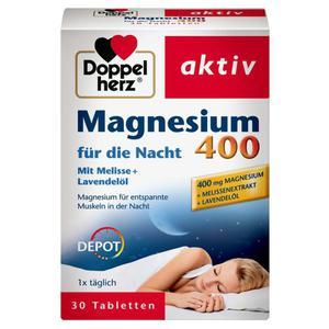 Doppelherz aktiv Magnesium 400 für die Nacht