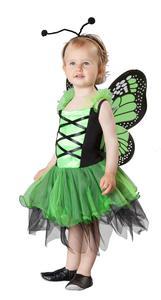 Kostüm - Schmetterling, für Kinder, 3-teilig