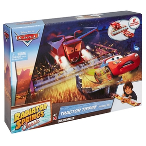 Disney Cars - Radiator Springs: Tractor Trippin Track Set