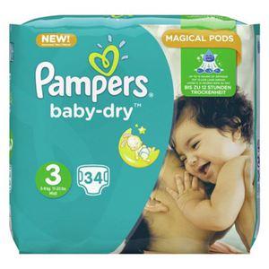 Pampers BabyDry 34er Gr.3 Midi