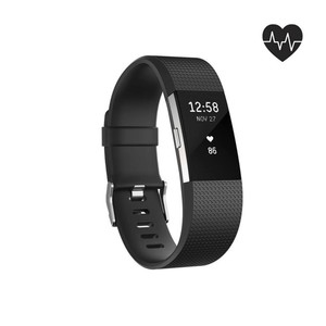 Activity Tracker Charge 2 L schwarz