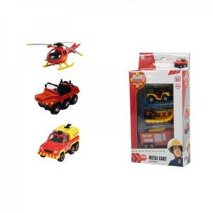 Dickie - Feuerwehrmann Sam - Feuerwehrmann Sam 3 Pack, 2-sortiert