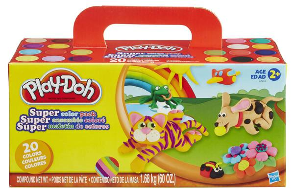 Play Doh - Regenbogen Super Farben - 20 Dosen