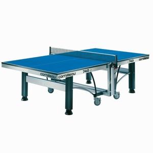 CORNILLEAU Tischtennisplatte 740 ITTF Indoor blau, Größe: DUNKELBLAU
