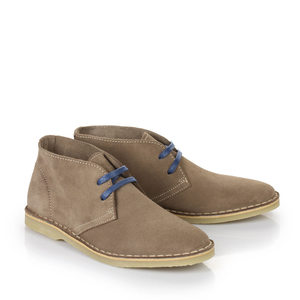 Buffalo Desert-Boots in taupe