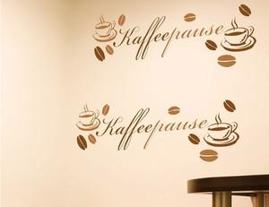 Wandtattoo Kaffee-Pause