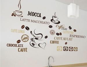 Wandtattoo Kaffeewelt