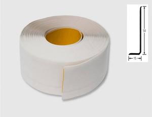 Weichsockelprofil weiß 50 mm