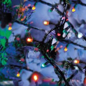 20er LED-Lichterkette bunt für Innen