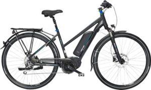 Fischer E-Bike TREKKING Damen ETD 1761, Mittelmotor 48V/557Wh, Navi (Teasi) und Shimano XT-Schaltwerk