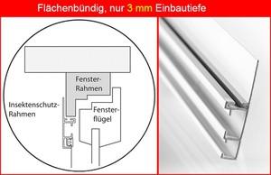 "Powertec Aluminium-Fliegengitter-Bausatz ""Compact"", 130 x 150 cm"