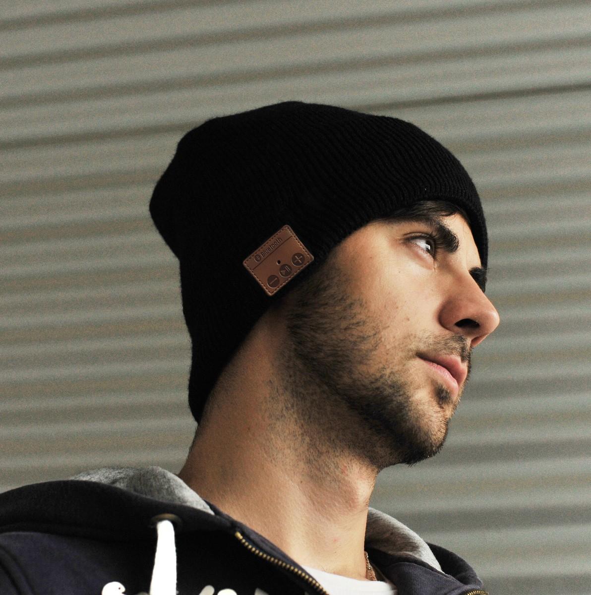 Bild 4 von Sharon Beanie mit Bluetooth Kopfhörer, schwarz