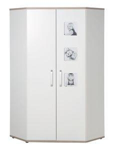 Roba - Eck-Kleiderschrank - Moritz Baby/Jugend - ca. 100 x 100 x 193 cm (LxBxH)