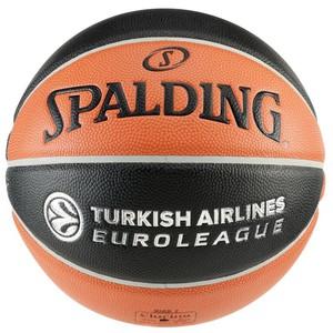 SPALDING Basketball TF 1000 Legacy Größe 7 Euro League Indoor, Größe: 7