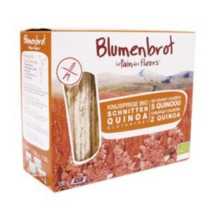 Blumenbrot - Quinoa-Schnitten bio 150g