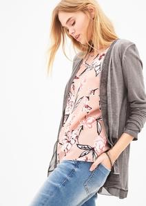 Sommer-Cardigan in Garment-Dye