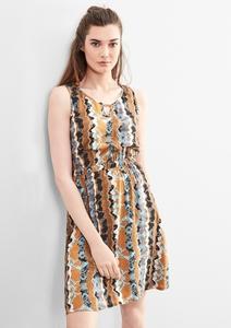 Blusenkleid mit Ethno-Print