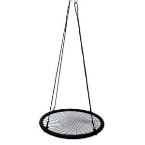 Netzschaukel Ø 100 cm schwarz