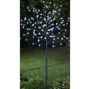 Solar LED-Blütenbaum 118cm hoch 128 Lichter