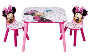 Sitzgruppe Minnie Maus Tisch und 2 Stühle