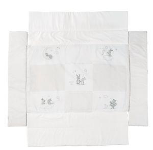 Roba - Universal-Laufgittereinlage - Fox and Bunny - für Laufgitter ca. 75/100 x 100 cm