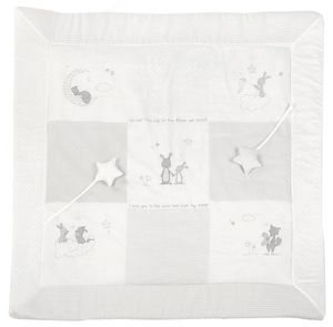 Roba - Spiel- und Krabbeldecke - Fox and Bunny - ca. 100 x 100 cm