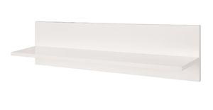 Roba - Holz Universal-Wandregal - alba-weiß - ca. 23 x 90 x 15 cm (HxLxB)