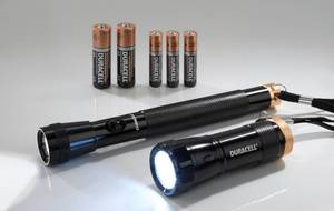 LED Taschenlampen Set DUO-C inkl. Batterien Duracell