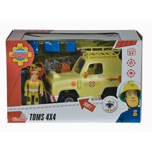 Simba - Feuerwehrmann Sam: Toms 4x4 Geländewagen