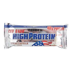 Proteinriegel Eiweißriegel High Protein Stracciatella 100g WEIDER