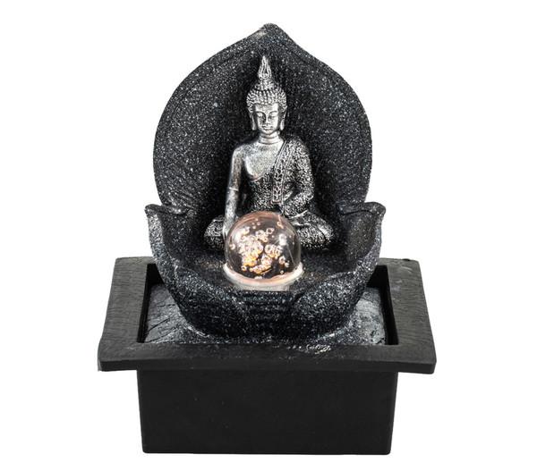 """Pajoma Zimmerbrunnen """"Silver Buddha"""""""