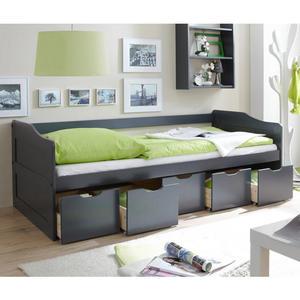 TICAA Sofabett ´´Maria´´, grau lackiert