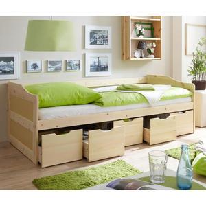 TICAA Sofabett ´´Maria´´, natur lackiert
