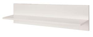 Roba - Holz Universal-Wandregal - weiß - ca. 23 x 90 x 15 cm (HxLxB)