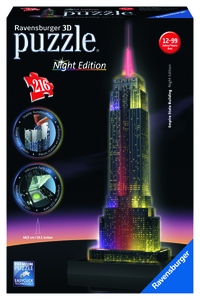 3D Puzzle- Empire State Building bei Nacht Ravensburger