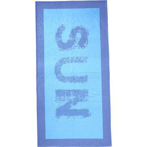 Yorn Home Strandaken Sun Velour, 80x160 cm, blau