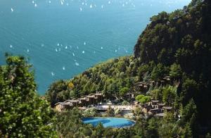 Gardasee - Limone  Appartementanlage Oasi