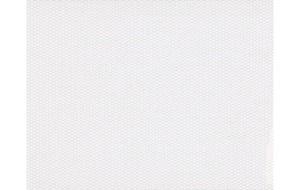 Glasfasertapete Doppelkettte Uni Weiß