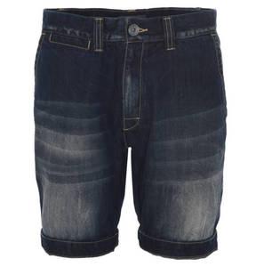 manguun        Bermuda, Used-Look, Eingrifftaschen, kurz