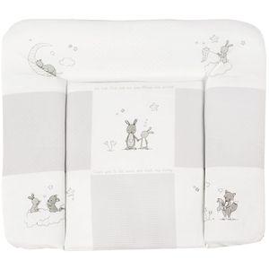 Roba - Wickelauflage soft - Fox and Bunny - ca. 85 x 75 cm