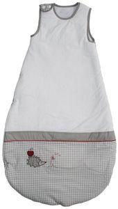 Roba - Kinder-Schlafsack - Adam und Eule - bestickt - ca. 60 x 110 cm