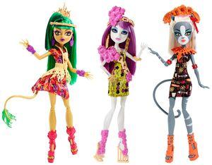 Monster High - 1 Monster Grauszeit Puppe - verschiedene Charaktere erhältlich