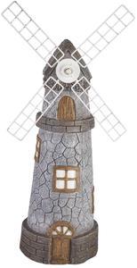 Windmühle - aus Polyresin - 18,5 x 18,5 x 52 cm