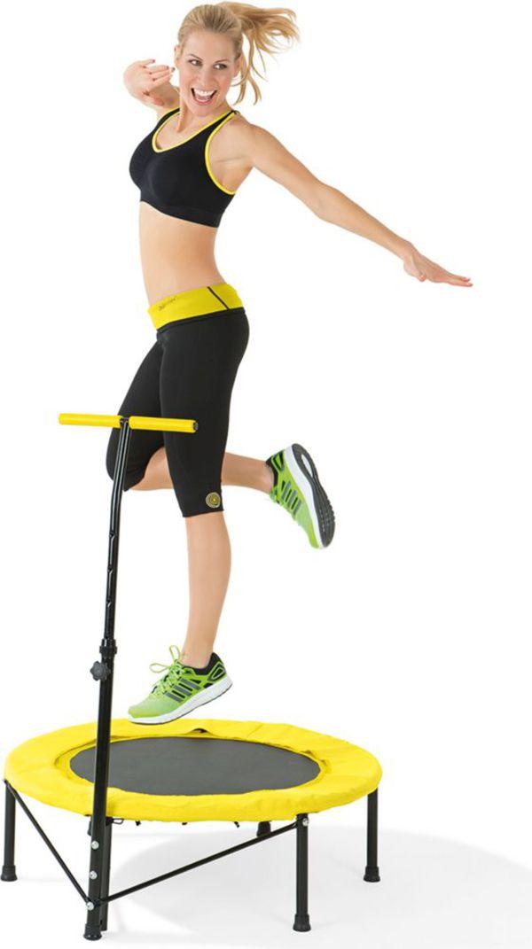 VITALmaxx Fitness-Trampolin, gelb