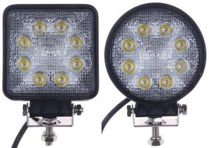 Arbeitsscheinwerfer - LED - Heavy Duty - eckig oder rund