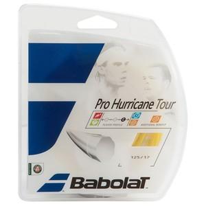 Tennissaite Pro Hurricane Tour 1,25 mm 12 m weiß