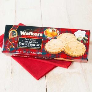Walkers Stem Ginger Shortbread 175g 2,28 € / 100g