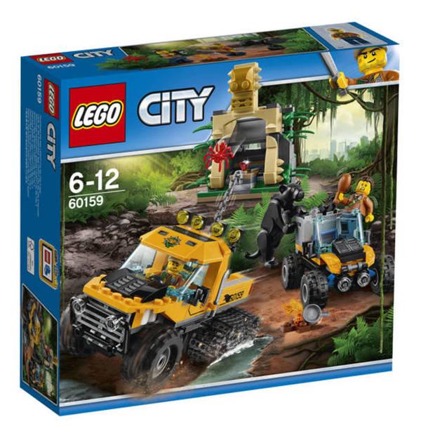 Lego City Mission Mit Dem Dschungel Halbkettenfahrzeug 60159 Von