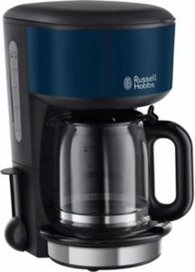 Russell Hobbs 20134-56 Colours Royal Blue Glas-Kaffeemaschine