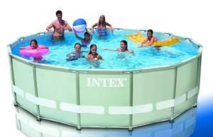 Steinbach Frame Pool Set Ultra Rondo 488x122 cm